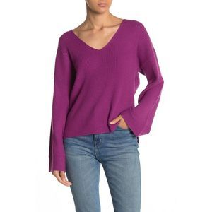 Free Press XXS Sweater Ribbed Soft Wide Sleeve 933